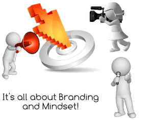 It's all about branding and mindset
